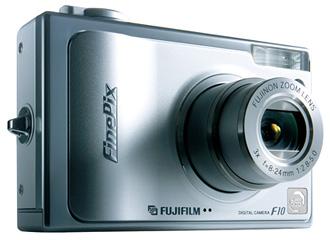 デジタルカメラ「FinePix F10」